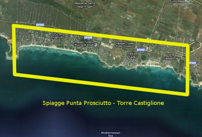 map-beaches-porto-cesareo-puglia-torre-lapillo