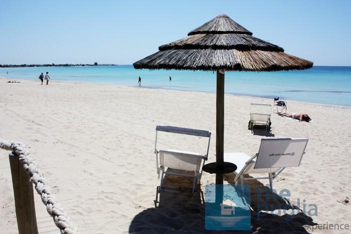 Where can I find the beaches of Porto Cesareo, Torre Lapillo or Punta Prosciutto?