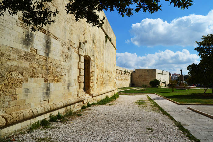 A Castle to visit in Lecce: Carlo V Castle