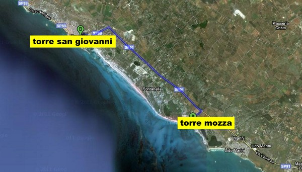 torre-san-giovanni-beaches-map