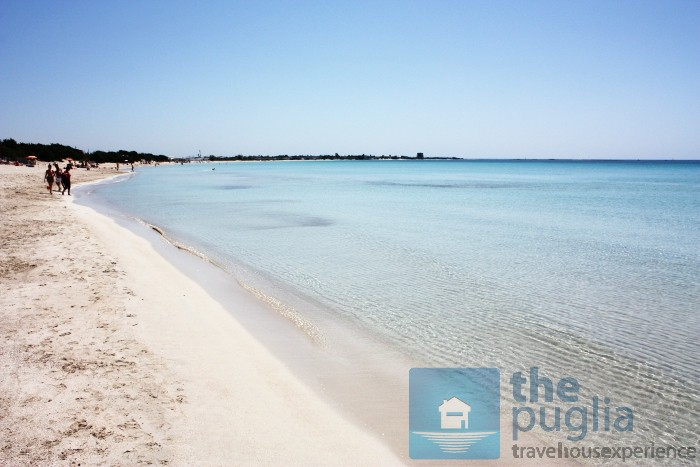 Torre Lapillo Beach Of Porto Cesareo Southern Puglia